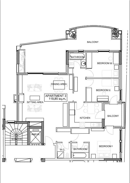 Filothei  - Appartement  - picture 4