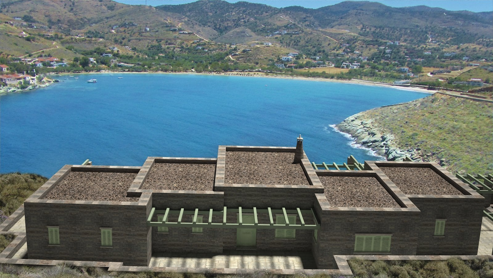 Villa Exceptionnelle 206 Le De Kea Barnes Greece