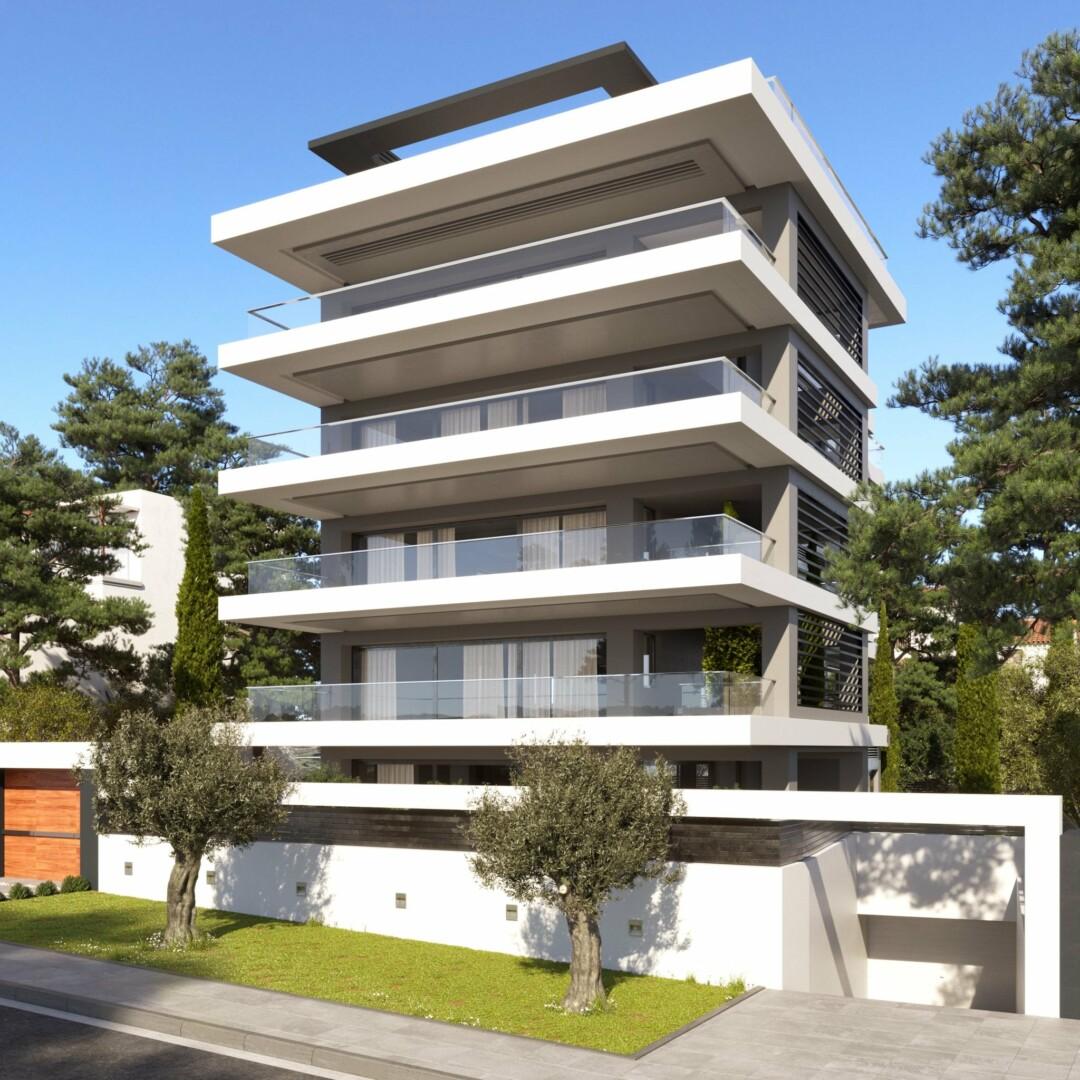 Bel appartement en construction glyfada banlieux du sud for Acheter un appartement en construction