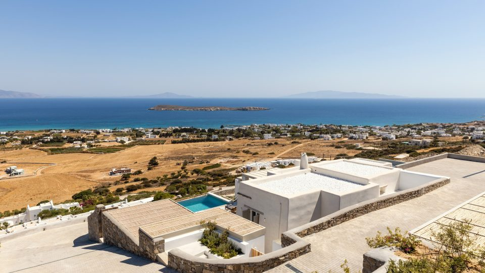 Villa with Sea View   Paros Island